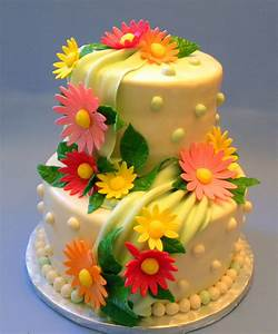 Birthday Cakes Images: Amusing Birthday Cake Flowers