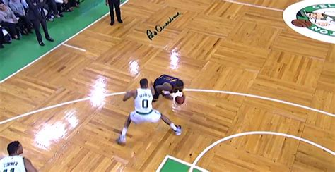 Kyrie Irving Blows By Avery Bradley With Killer Crossover ...