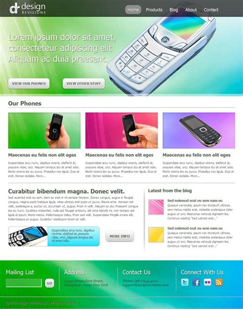 code a vibrant professional web design with html5 css3
