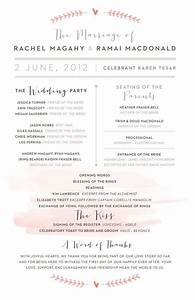 25 best wedding programs simple ideas on pinterest fun With simple wedding ceremony script