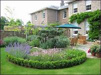 simple landscaping ideas fertile back garden ideas for a welcoming house | 2832 ...