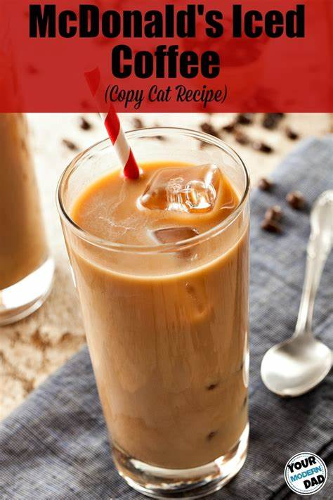 Here comes a simple mcdonald's french fries recipe: Mcdonald's Sugar Free Iced Coffee Recipe (Vanilla!) - CopyCat Recipe!