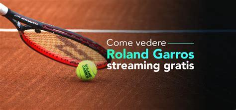 Du 30 mai au 13 juin. Come vedere Roland Garros streaming gratis nel 2021