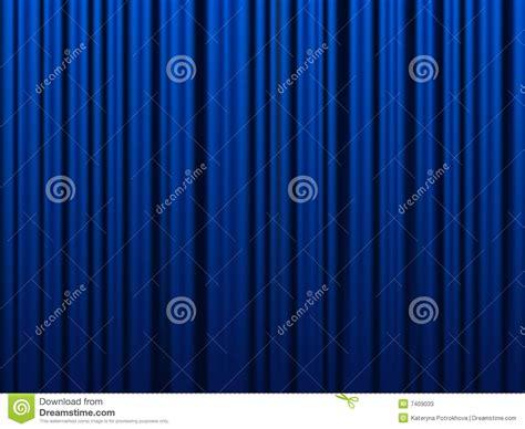 rideau bleu photos stock image 7409033