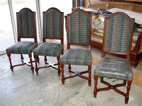 chaises louis xiii habillage tissus chaise louis xiii coudoux 13