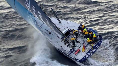 team telefonica race highlights volvo ocean race
