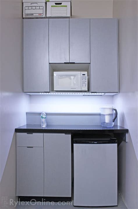 Kitchen Laundry Ideas - compact office kitchenette efficient middletown