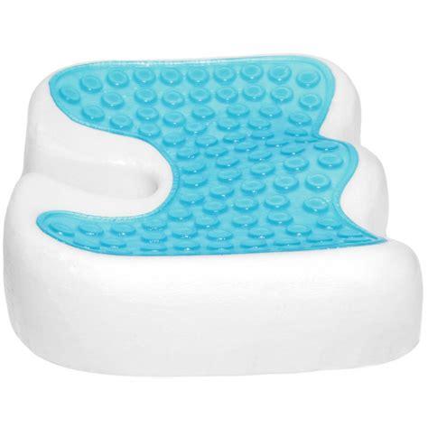 Orthopedic Gel Seat Chair Cushion by Coccyx Orthopedic Gel Enhanced Comfort Foam Seat Cushion