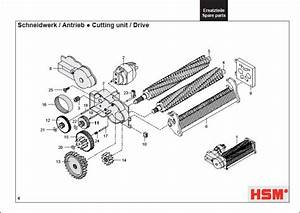 Hsm Classic 102 2 102cc 102sc Shredder Oem 11 27 Tooth