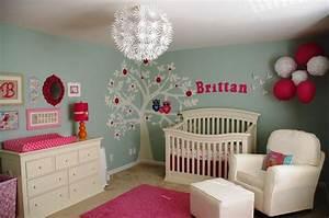 Baby nursery decor extraordinary paint cute girl ideas job quality fantastic