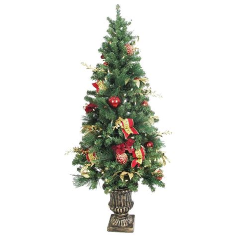 Battery Operated Tree Lights by Home Accents 5 Ft Battery Operated Plaza Potted