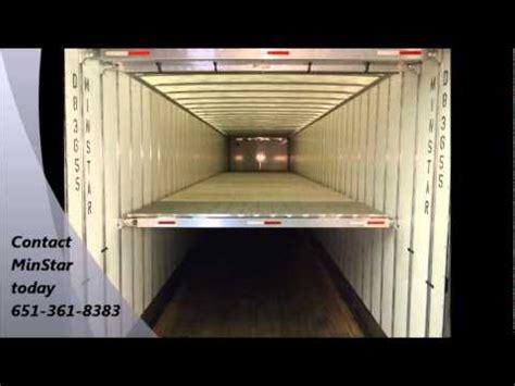 cargo trailer conversion floor minstar transport deck trailer