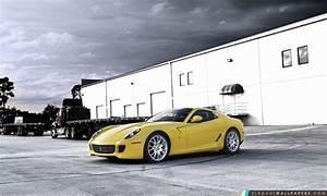Ferrari Jaune Fond D39cran HD Tlcharger Elegant