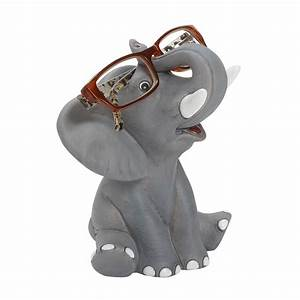Happy Elephant Eyeglass Holder