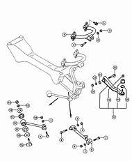 2005 dodge stratus rear suspension diagram