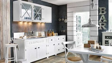 decoration mur cuisine une déco de style bord de mer dans la cuisine diaporama