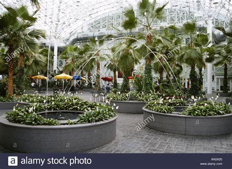 Navy Pier Chicago Illinois Crystal Garden Glass Enclosed