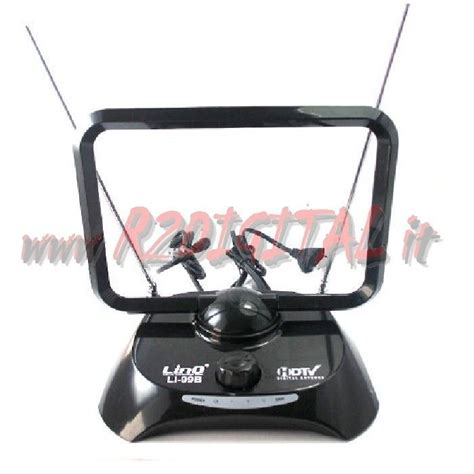 Antenna Tv Interna by Antenna Tv Linq Dvb T Uhf 38 Db Digitale Terrestre