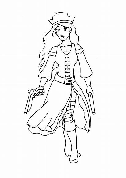 Coloring Pages Random Pirate