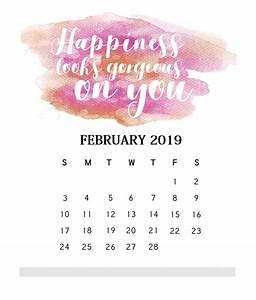 Free Printable Calendar October 2020 Inspirational February 2019 Quotes Calendar Calendar