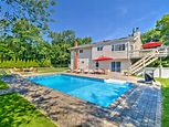 Modern Hampton Bays House w/Pool & Beach Rights! - Hampton ...