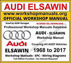 Audi Workshop Manual