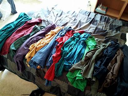 Clothing Clothes Donation Bunch Journal Shirts Wear