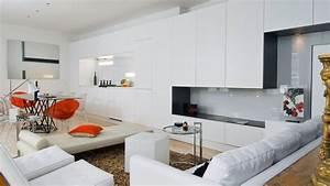 Salon Cuisine Ouverte : decoration cuisine ouverte sur sejour avec comment ~ Melissatoandfro.com Idées de Décoration