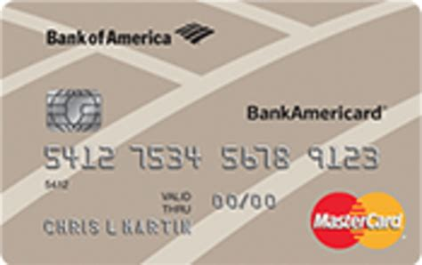 bankamericard secured credit card   worth