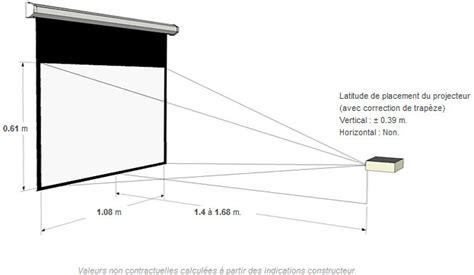 distance ecran videoprojecteur canapé lexique d hifi audio vidéo vidéo com