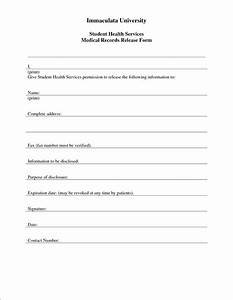 3 medical release form template