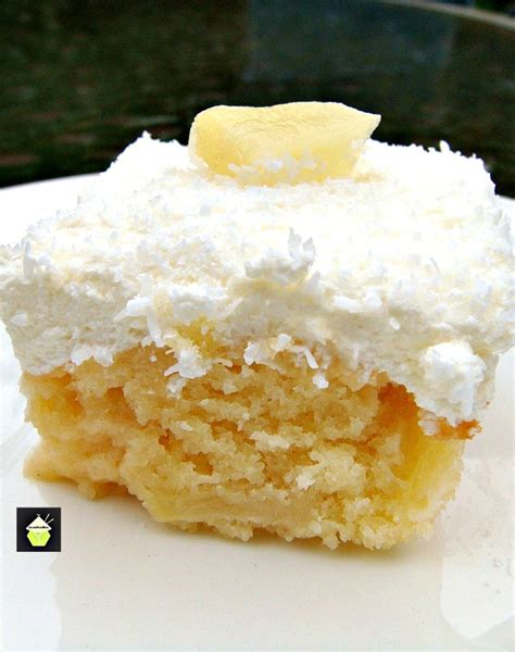 pineapple  coconut cake lovefoodies