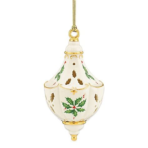 lenox 174 2014 holiday pierced ornament buybuy baby