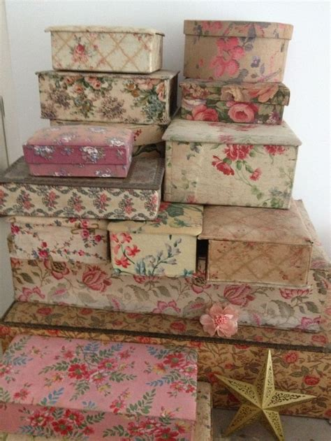 fabric covered boxes images  pinterest fabric boxes french fabric  cartonnage
