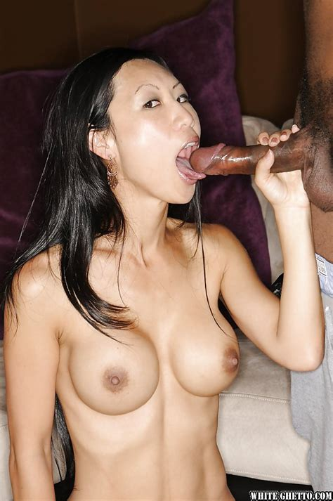 Interracial Sex Scene Features Asian Milf With Big Tits