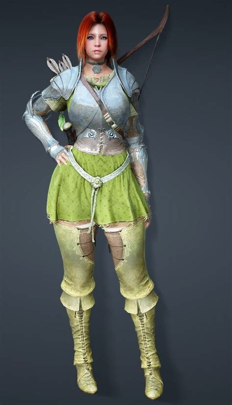 armor taritas ranger bdo outfit loverslab cbbe bodyslide conversions skyrim spoiler studio mods