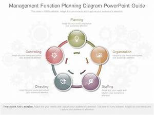 Management Function Planning Diagram Powerpoint Guide