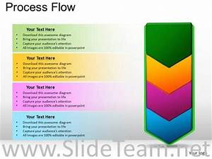 Flow Chart Template For Powerpoint 2010 Marketing Process Flow Chart Diagram Powerpoint Diagram