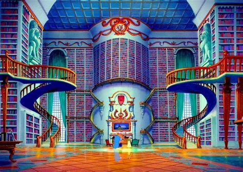 belle   castle library audio atmosphere