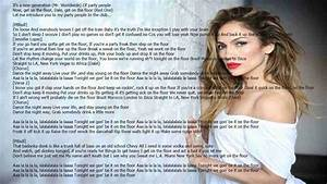 Floor floor on the meaning lyrics jennifer lopez chords for Lyrics of on the floor of jennifer lopez