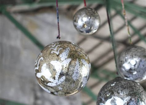 extra large antique gold bauble heavenlyhomesandgardens