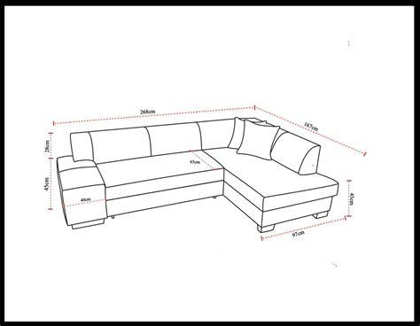 canap d angle dimension dimensions pratiques du canapé d 39 angle