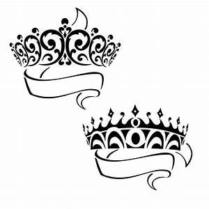 Prince Crown Tattoo - Cliparts.co