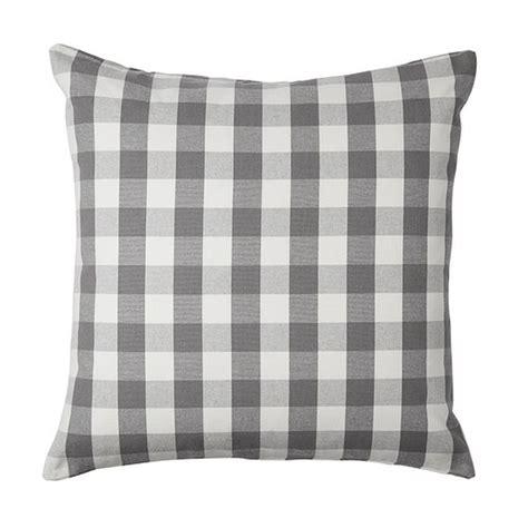 grey and white pillows ikea smanate cushion cover pillow sham gray white