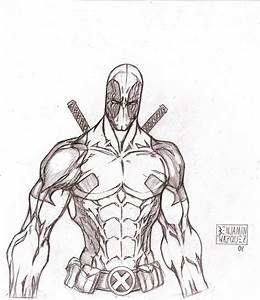 My first Deadpool by MetaWorks on DeviantArt