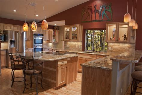 pictures  luxury wooden kitchens