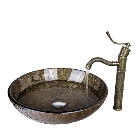 Rustic Faucets Bathroom by Rustic Bronze Bathroom Sink Upon Mount Shaped With