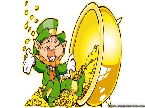leprechaun pot of gold clip