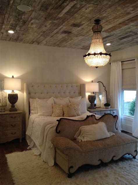rustic chic bedrooms ideas  pinterest rustic