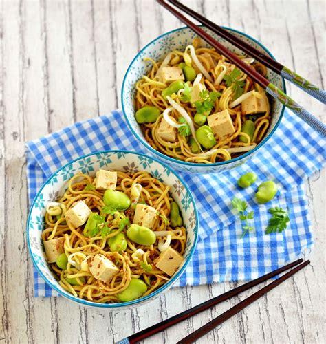recettes de cuisine corse salade de nouilles asiatiques aux fèves les meilleures